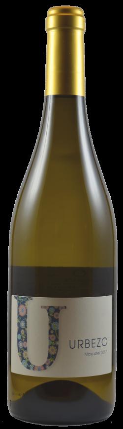URBEZO Moscatel 2017  Aroma original, fresco y con un toque dulce