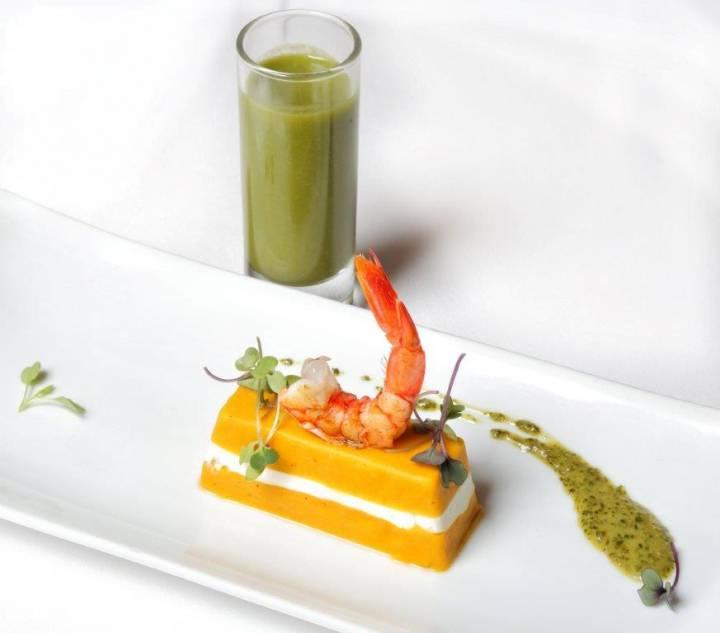 Timbal de zanahoria en La Bodega de Chema