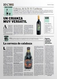 Heraldo de Aragón - Urbezo Crianza 2011