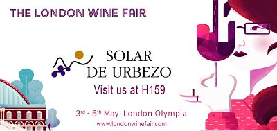 Solar de Urbezo will take part in the London Wine Fair 3rd-5th May
